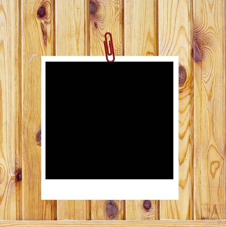 Wooden background of the harvest with frame photo