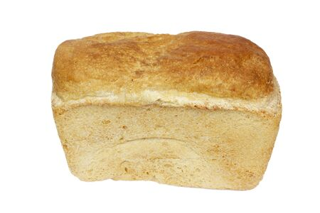 Loaf of bread isolated on white background  photo