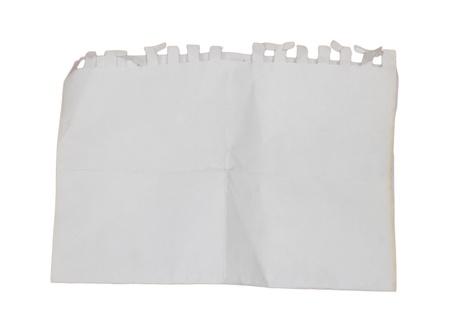 bribe: Un vieux papiers de grunge isol� avec edge br�l�