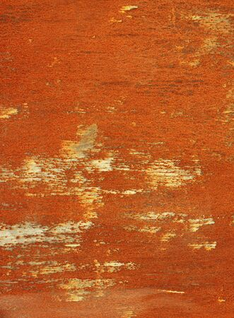 rusty steel sheet of metal Stock Photo - 9973845