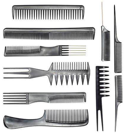 collection of combs photo