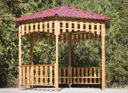 tuinhuis: zomerhuis in park