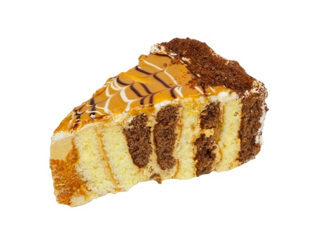 карамельное пирожное