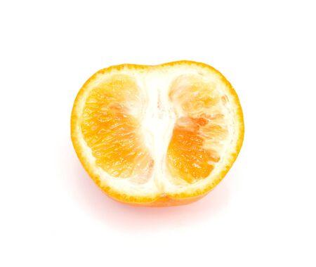 Mandarin isolated on white background Stock Photo - 10296617