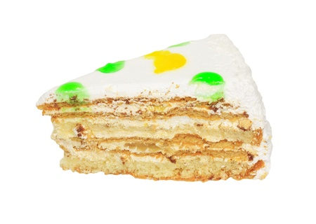 cake on a white background Stock Photo - 10500949