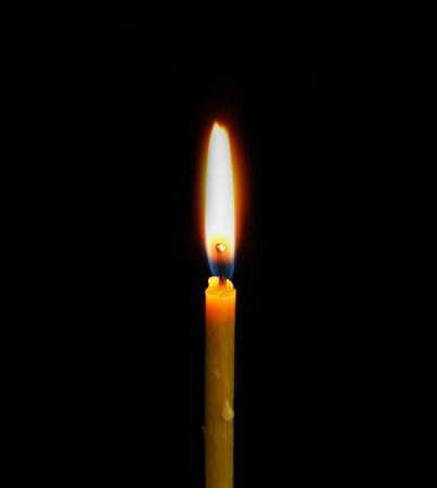 christmas religious: Burning Candle