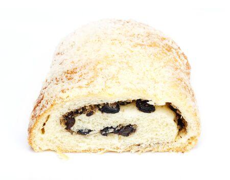 strudel with raisins photo