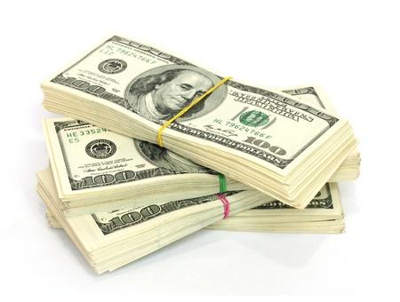 Стек $ 100 законопроектов