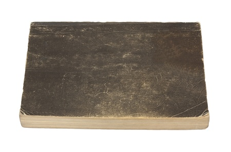 Old book cover is isolated on a white background Stock Photo - 10548160