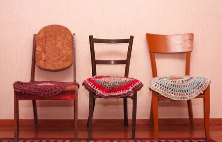 three old chairs photo