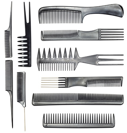 collection of combs Stock Photo - 11499820