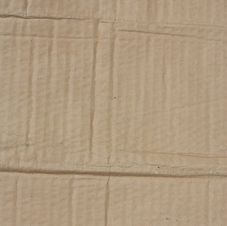 goffer: Brown corrugated cardboard sheet background