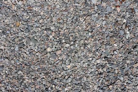 macadam: background of stone macadam of different colors