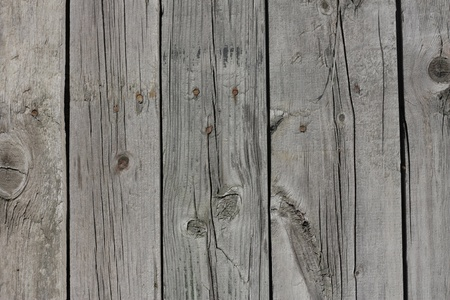 old wooden door: Close up of gray wooden fence panels  Stock Photo