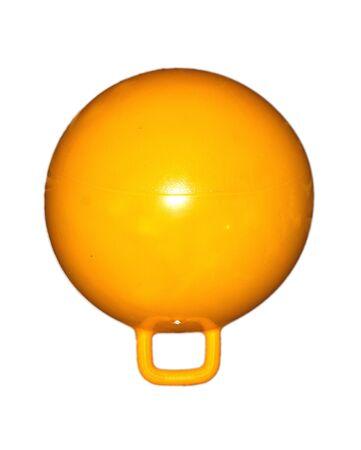 yellow ball with handle photo