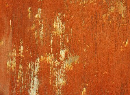 rusty steel sheet of metal  photo