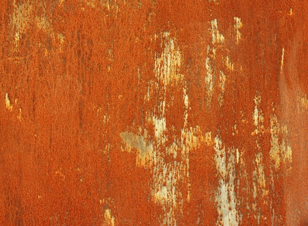 rusty steel sheet of metal  photo