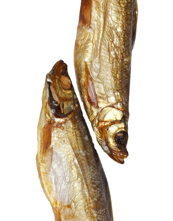 whitefish: two smoked whitefish Stock Photo