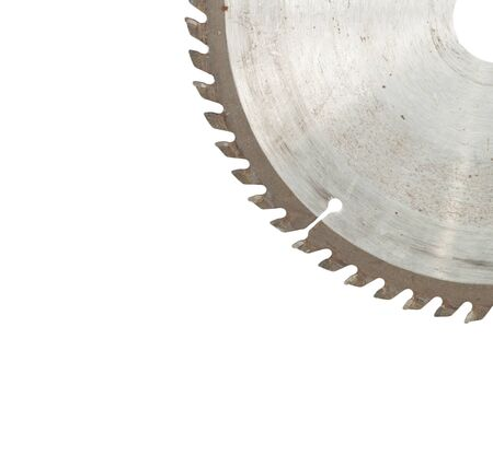 Circular saw isolated over a white background  photo