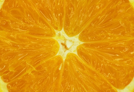 Fresh juicy orange  Stock Photo - 12999892