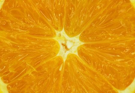 Fresh juicy orange Stock Photo - 12999892