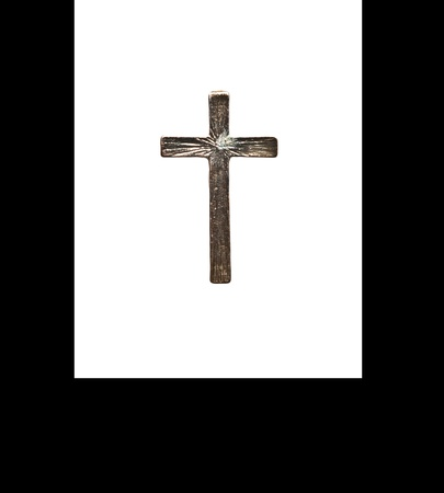 old bronze cross  Stock Photo - 13832939