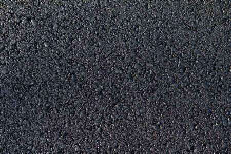 new asphalt laid on the road Stock Photo - 13860516