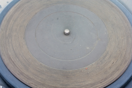 an old gramophone photo