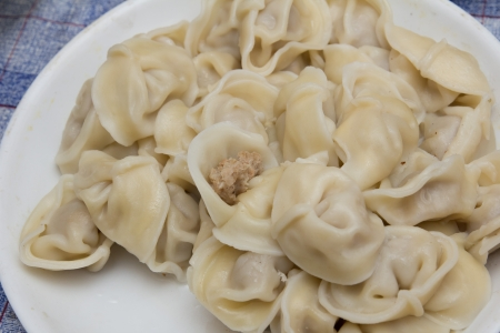 Russian dumplings photo