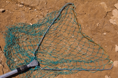 net for catching fish photo
