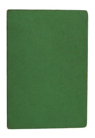 Cover of the Green Paper on a white background Stock Photo - 14929315