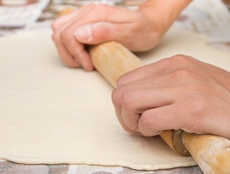 rolling dough photo