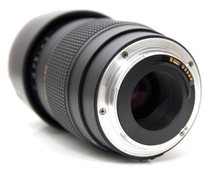 lens on a white background Stock Photo - 15726110