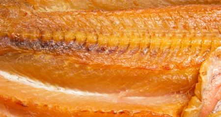smoked fish as a background photo