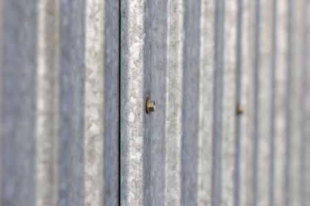 tin fence. background photo
