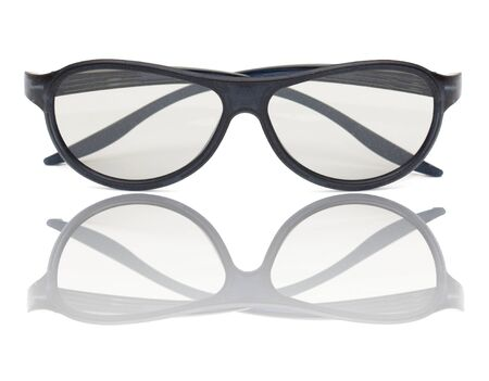 glasses on a white background Stock Photo - 16171895