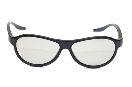 glasses on a white background Stock Photo - 16171732