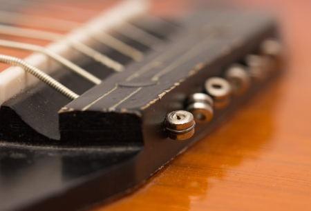 re do: strings on a guitar. macro