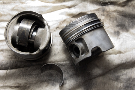 piston from the car. spares Stock Photo - 16597679