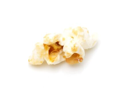 popcorn on a white background. macro Stock Photo - 16629659