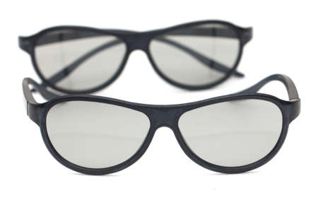 glasses on a white background Stock Photo - 16629428