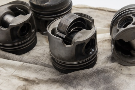piston from the car. spares Stock Photo - 16617237