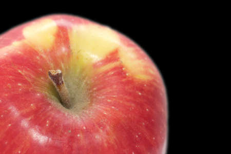 background of the apple. macro photo