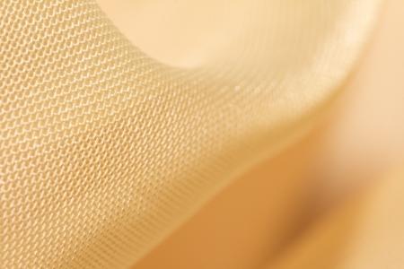 fondo elegante: tela de oro como fondo. macro