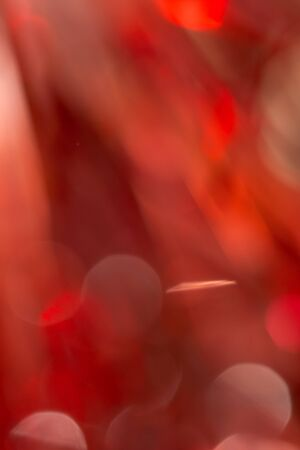 Red and orange holiday bokeh. Abstract Christmas background Stock Photo - 17365900