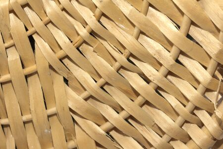 wicker as background. macro photo