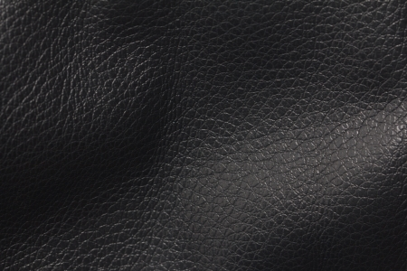 chamois leather: black leather as a background