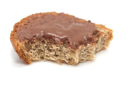 sandwich with chocolate oil photo