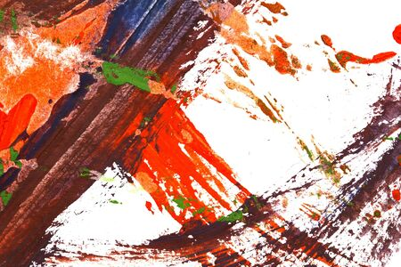 guache: fondo abstracto pintado con gouache