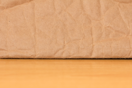 background made ​​of cardboard and wooden background photo